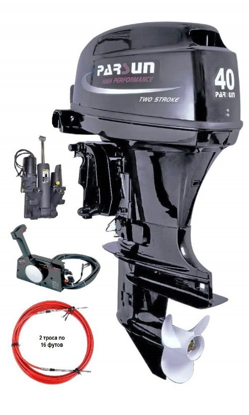 Лодочный мотор Parsun T40FWS-T
