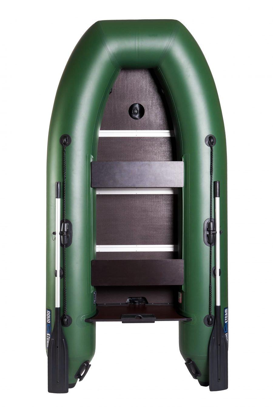 Надувная лодка Aqua-Storm Lu290AD Air-Deck