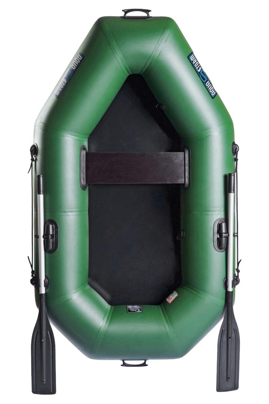 Надувная лодка Aqua-Storm St220CK слань-книжка