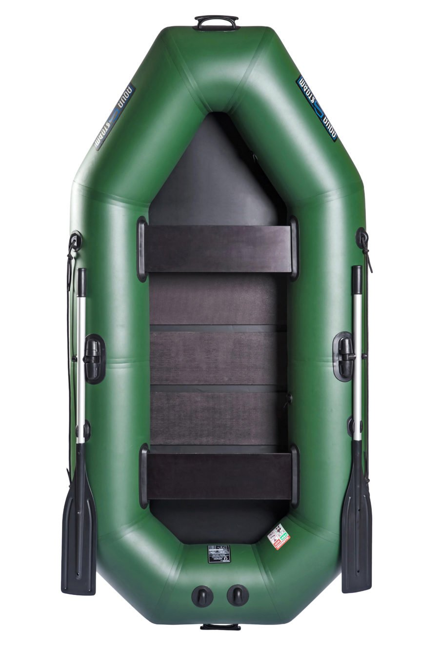 Надувная лодка Aqua-Storm St260CK слань-книжка