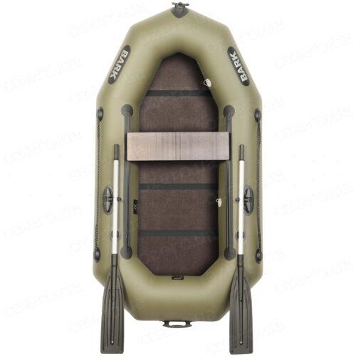 Надувная лодка Bark B-220DK с книжкой и подвижным сиденьем