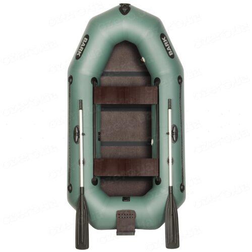 Надувная лодка Bark B-250NDK с книжкой с транцем и подвижными сиденьями