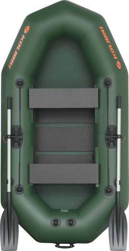 Надувная лодка Kolibri K-250T слань-коврик
