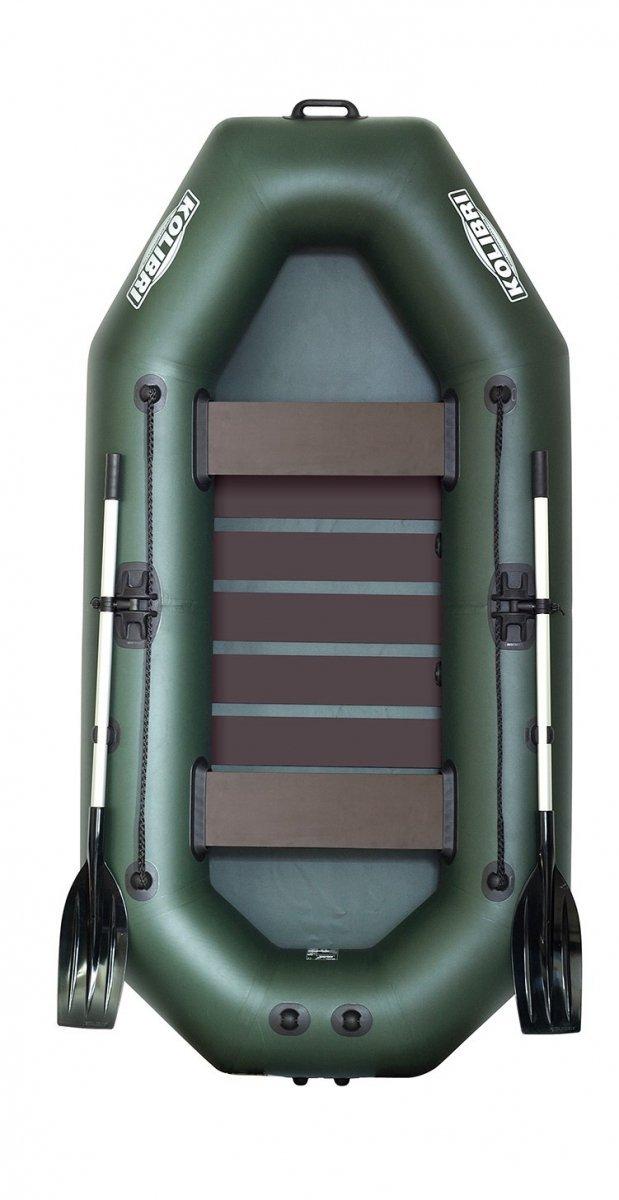 Надувная лодка Kolibri K-260T-SK слань-коврик