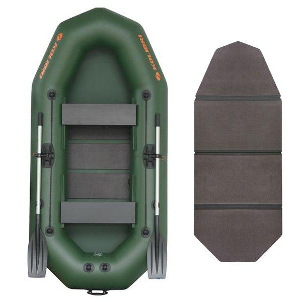 Надувная лодка Kolibri K-270T-SKN слань-книжка