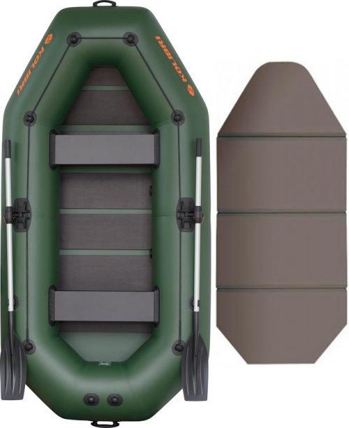 Надувная лодка Kolibri K-280CT-SKN слань-книжка