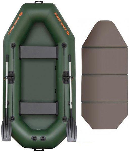 Надувная лодка Kolibri K-280T-SKN слань-книжка