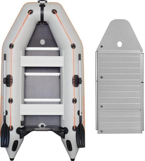 Надувная лодка Kolibri KM-330D-AP алюминиевый пайол