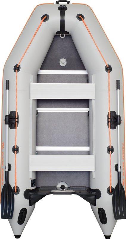 Надувная лодка Kolibri KM-330D фанерный пайол