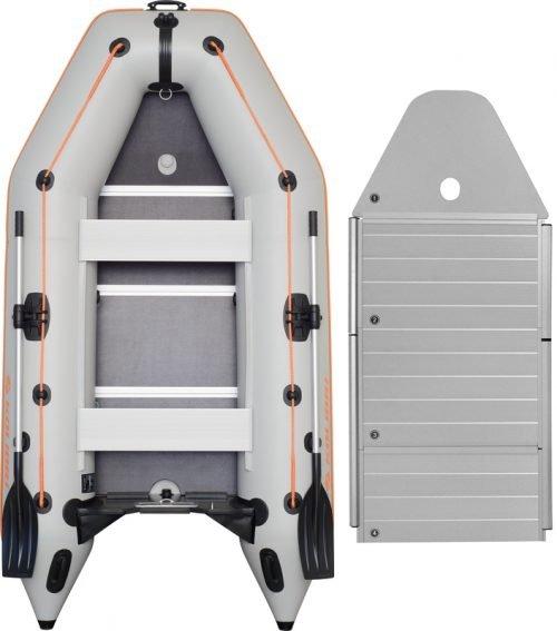 Надувная лодка Kolibri KM-360D-AP алюминиевый пайол