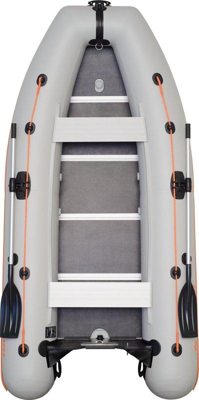 Надувная лодка Kolibri KM-360DSL фанерный пайол