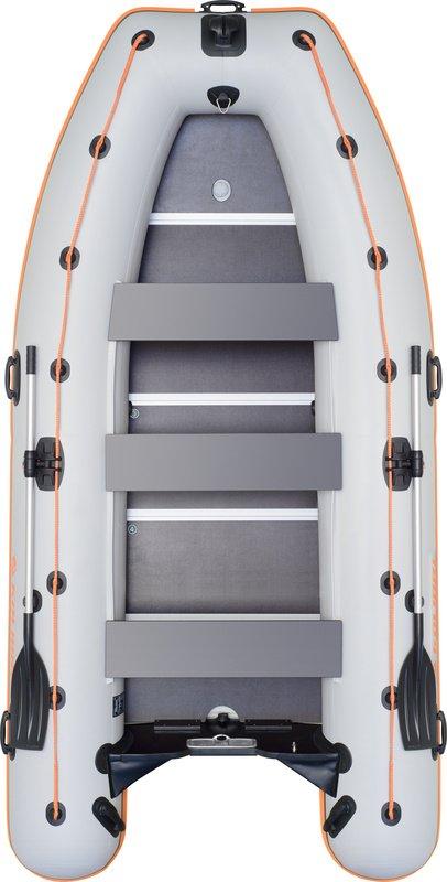 Надувная лодка Kolibri KM-400DSL фанерный пайол
