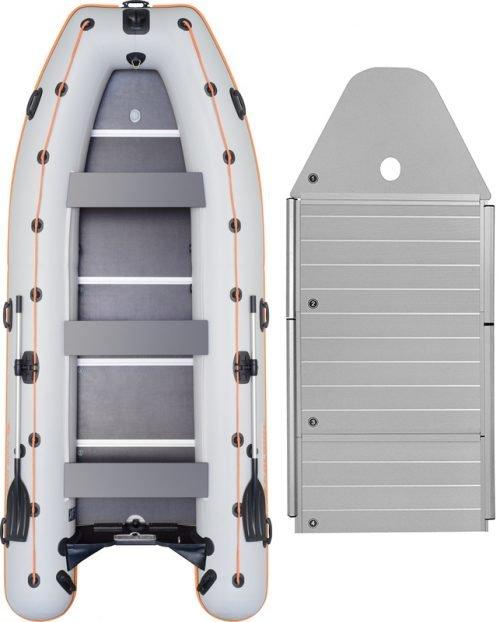 Надувная лодка Kolibri KM-450DSL-AP алюминиевый пайол