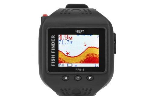 Беспроводной эхолот часы для рыбалки LUCKY FF518