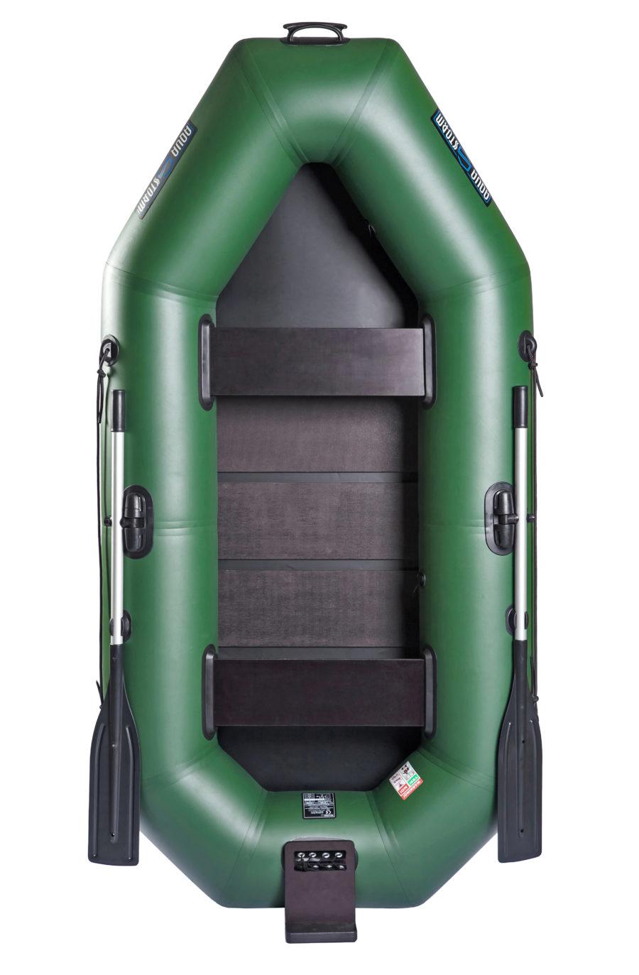 Надувная лодка Aqua-Storm St280DtCK слань-книжка