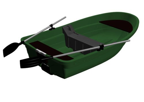 Пластиковая лодка Kolibri RKM-250