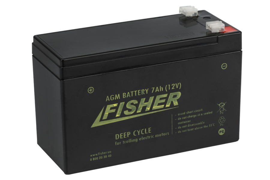 Аккумулятор для эхолота Fisher 7AH AGM