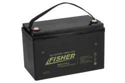 Аккумулятор для лодочного электромотора Fisher 100AH GEL