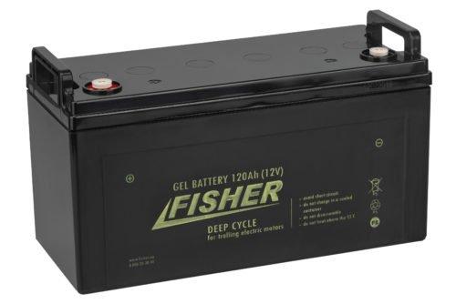 Аккумулятор для лодочного электромотора Fisher 120AH GEL
