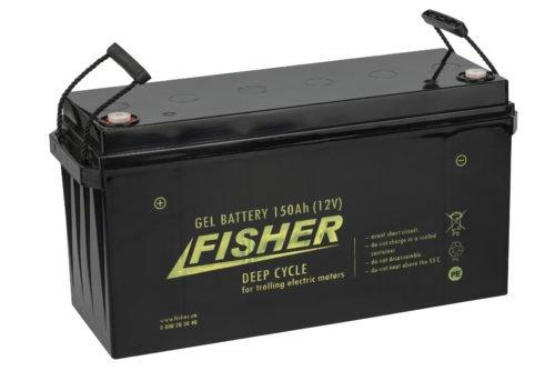 Аккумулятор для лодочного электромотора Fisher 150AH GEL