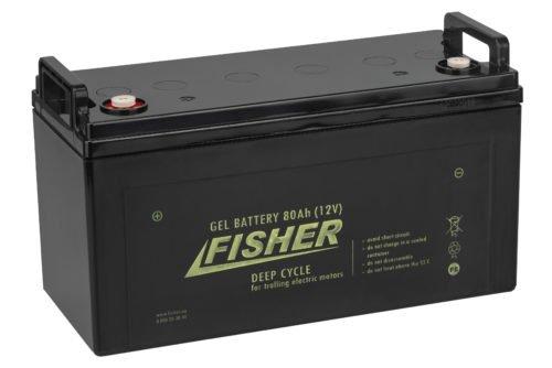 Аккумулятор для лодочного электромотора Fisher 80AH GEL