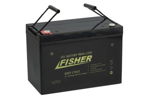 Аккумулятор для лодочного электромотора Fisher 90AH GEL