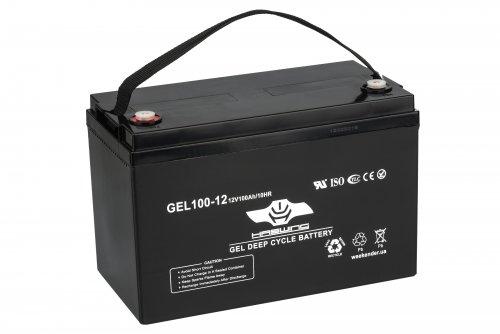 Аккумулятор для лодочного электромотора Haswing 100AH GEL H