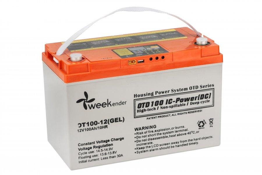 Аккумулятор для лодочного электромотора Weekender 12V100AH