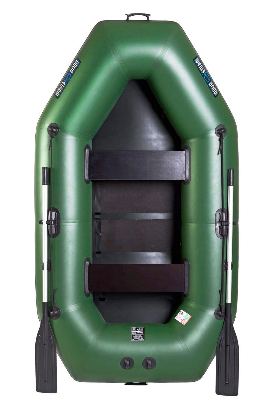 Надувная лодка Aqua-Storm SS260RCK слань-книжка