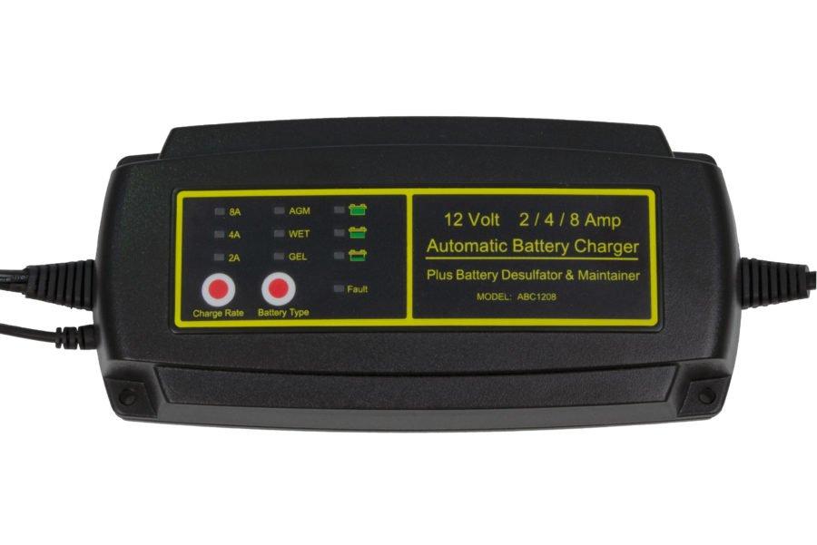 Зарядное устройство для гелевого аккумулятора Smart Sunergy 1208