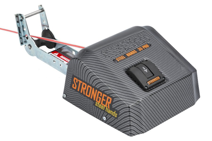 Якорная лебедка для лодки Stronger 35 Pro Steel Hands