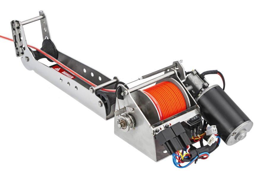 Якорная лебедка для лодки Stronger 35i S Pro Steel Hands
