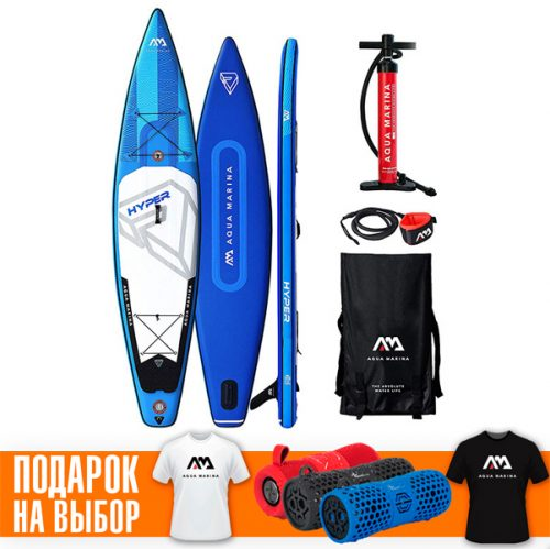 Надувная Sup доска 12.6 Aqua Marina Hyper BT-19HY02