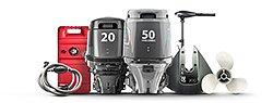Лодочные моторы и аксессуары