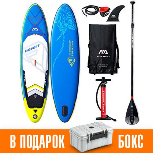 Надувная Sup доска 10.6 ft Aqua Marina Beast BT-19BEP