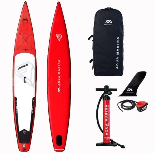 Надувная Sup доска 12.6 Aqua Marina Race BT-20RA01