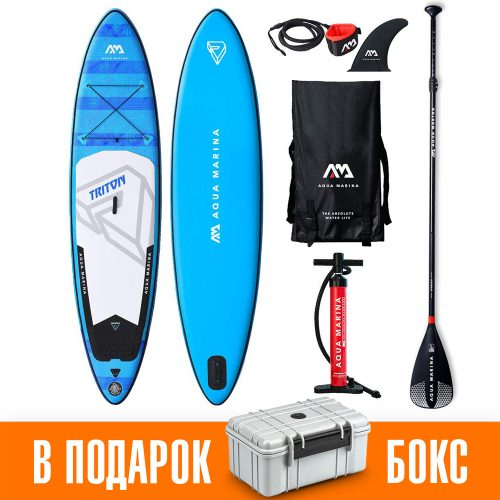 Надувная Sup доска 11.2 ft Aqua Marina Triton BT-19TRP