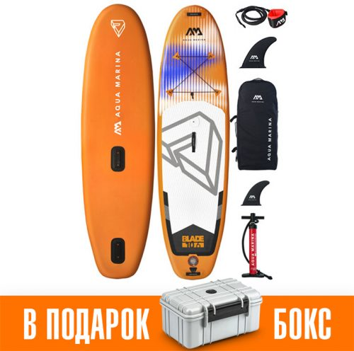 Надувная Sup доска 10.6 ft Aqua Marina Windsurf-Blade BT-20BL