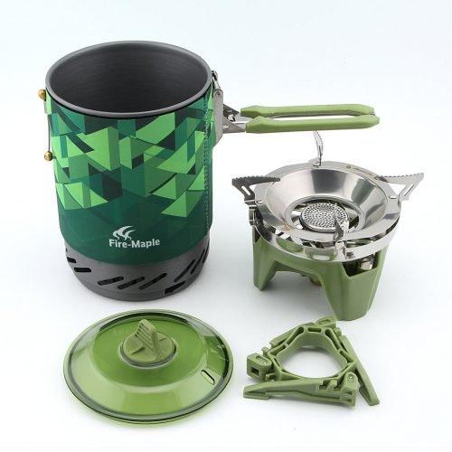 Система приготовления пищи Fire-Maple FMS-X2 зеленая