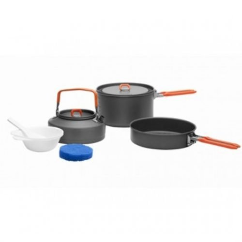 Набор посуды для 2-3 персон Fire-Maple Feast 2 черные ручки