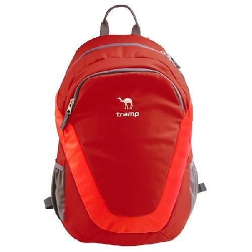 Рюкзак Tramp City 22 (красный, синий, черный) красный