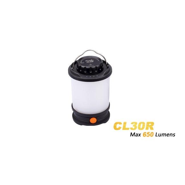Фонарь кемпинговый Fenix CL30R черный