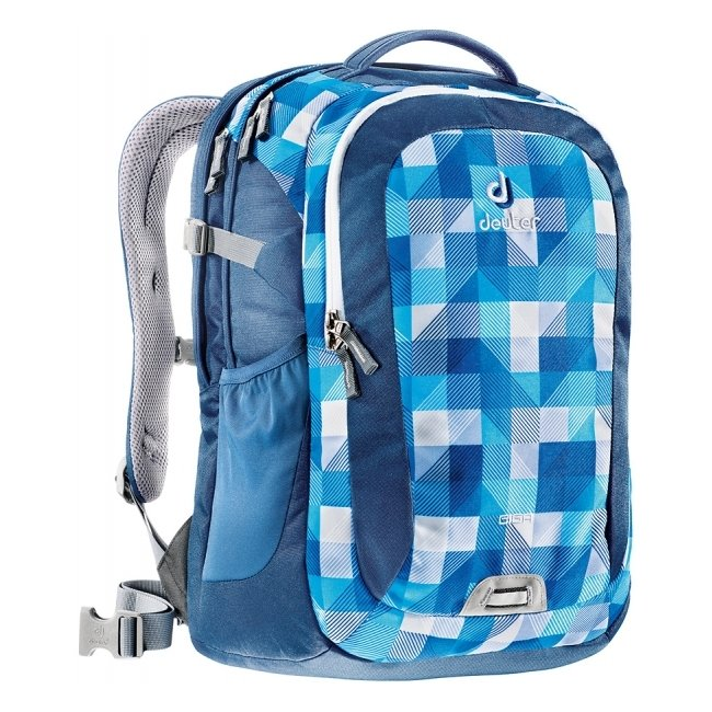 Рюкзак Deuter Giga синяя клетка (804143016)