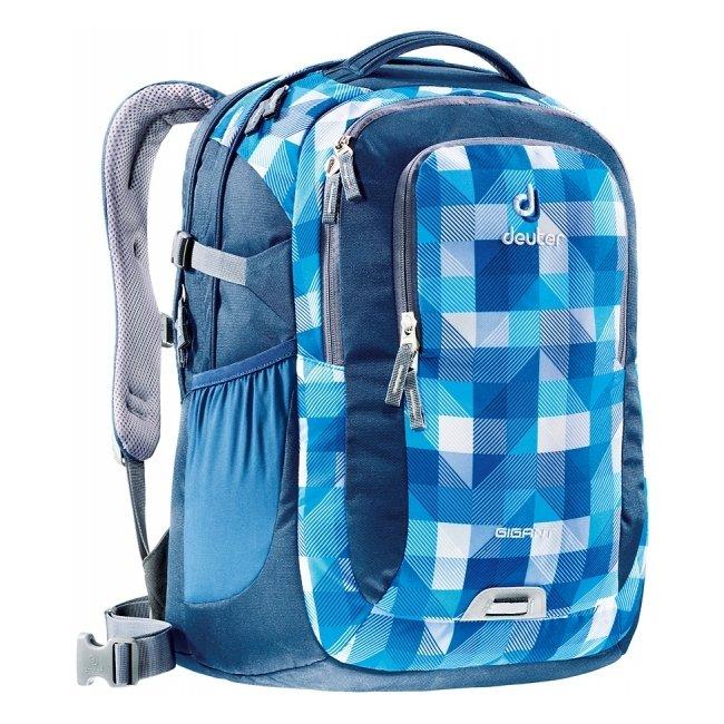 Рюкзак Deuter Gigant синяя клетка (804243016)