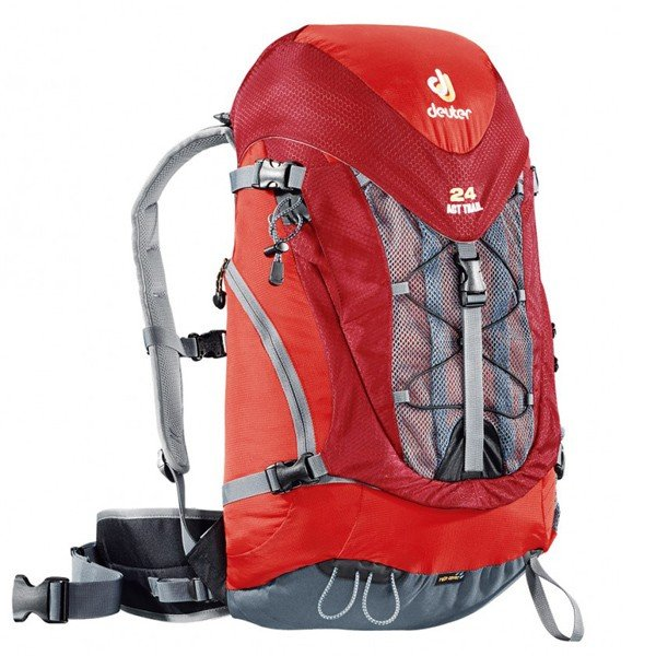 Рюкзак Deuter ACT Trail, 24 л, fire-cranberry
