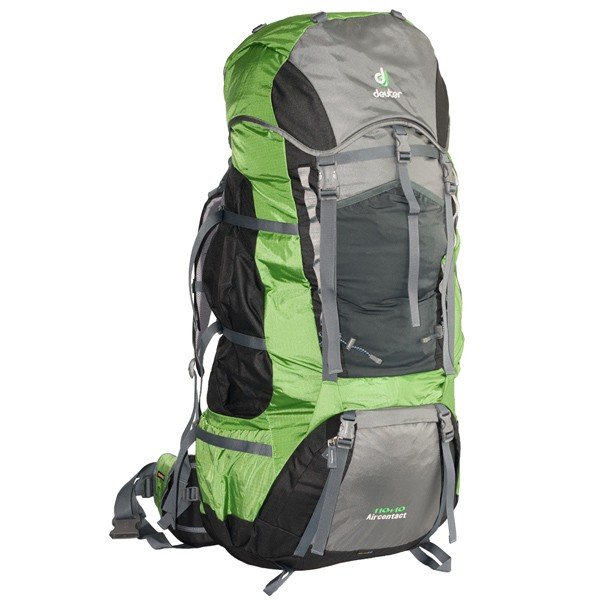 Рюкзак Deuter Aircontact, 110 + 10 л, granite-emerald
