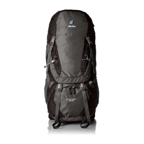 Рюкзак Deuter Aircontact, 45 + 10 л, granite-black