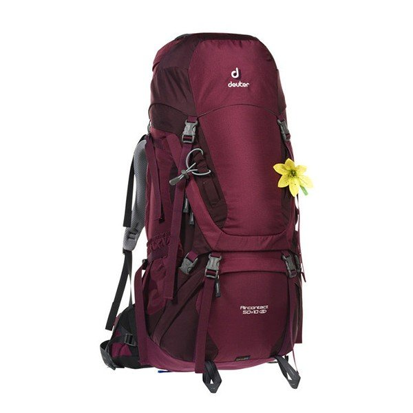Рюкзак Deuter Aircontact SL, 50 + 10 л, blackberry-aubergine