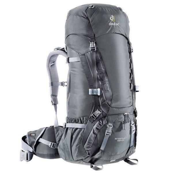 Рюкзак Deuter Aircontact, 55 + 10 л, granite-black