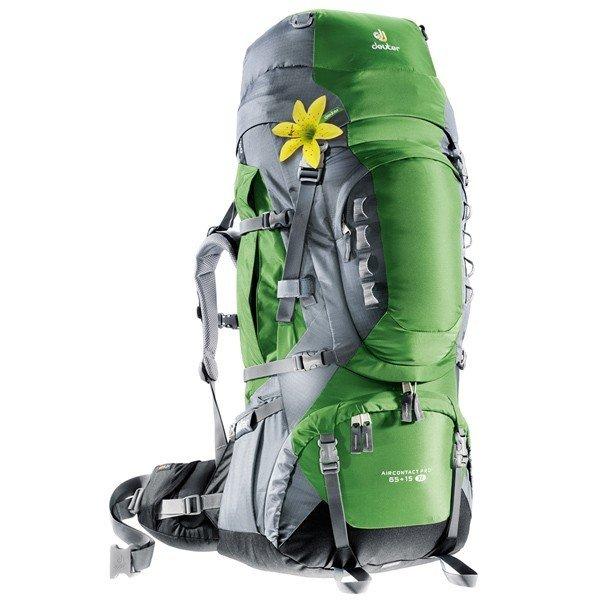 Рюкзак Deuter Aircontact PRO SL, 65 + 15 л, emerald-titan
